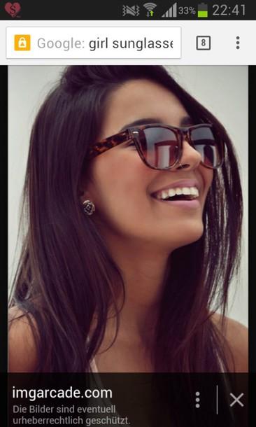 sunglasses brown cute summer sun sweet hipster italian