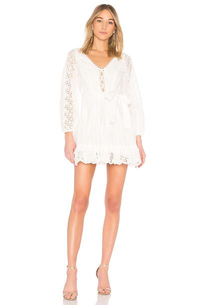 Zimmermann dress white