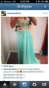 dress prom dress blue dress help glamour bling turquoise