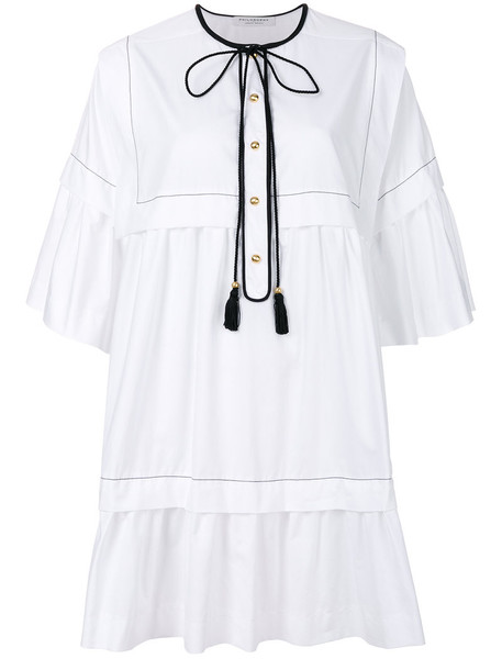 Philosophy di Lorenzo Serafini dress women white cotton