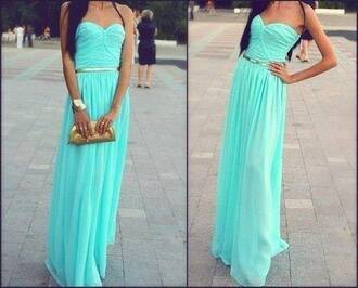 dress clothes prom dress blue dress long prom dress long formal dress long dress t?rkis maxi dress long blue tyrquise elegant mint fancy torqouise torquise tiffany aqua sleeveless sweetheart dress baby blue dress gorgeous dress perfect prom