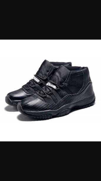 shoes air jordan 11 black shoes all black jordan 11 concord