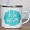 You are awesome enamel mug | picnic accessories | sass & belle