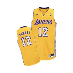 Basketball Totaal Adidas - Swingman NBA Jersey Los Angeles Lakers / Dwight Howard De basketball winkel van de Benelux!