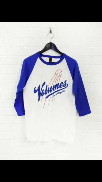shirt volumes baseball tee
