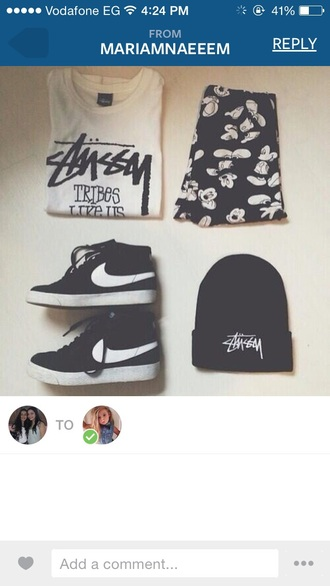 shoes grunge nike beanie pale hipster