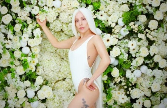 swimwear lady gaga white white swimwear
