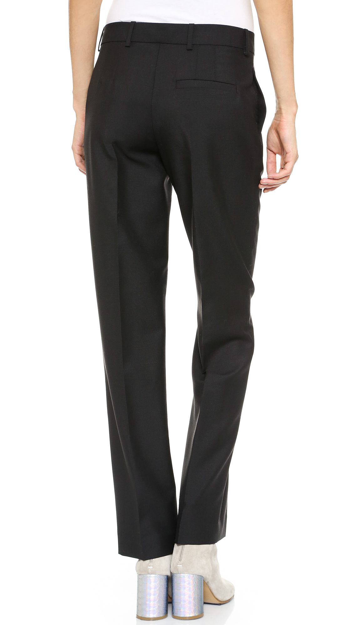 Acne studios super light wool trousers