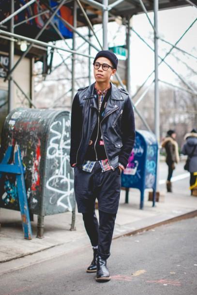closet freaks blogger mens jacket menswear mens leather jacket