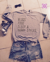 blogs food sleep and harry styles sweatshirt,sweater wheater is better weather sweatshirt,sweater
