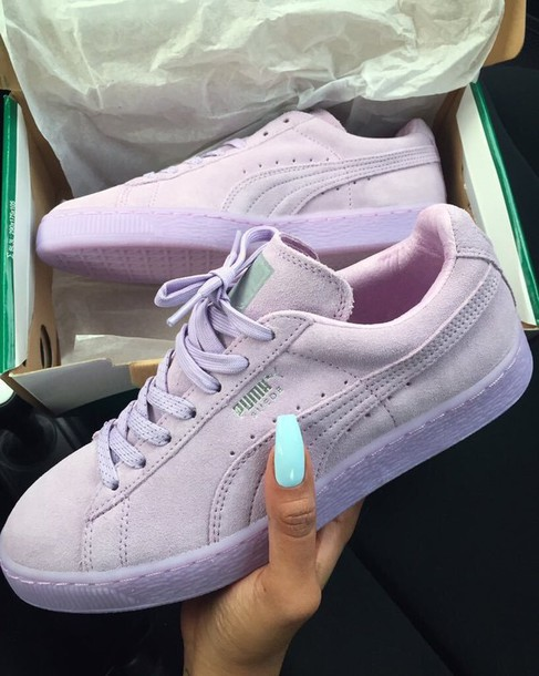 factory price 8f15d b8b49 shoes light pink puma suede puma sneakers twitter puma sneakers pink puma  suedes pink shoes cute