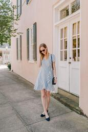 kelly in the city - a preppy chicago life,style and fashion blog,blogger,dress,striped dress,shoulder bag,spring outfits