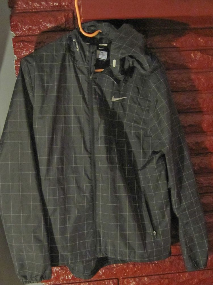 7f95ecb487e1 Nike Checkered Flash Men M Running Jacket Hooded Jacket Free ...