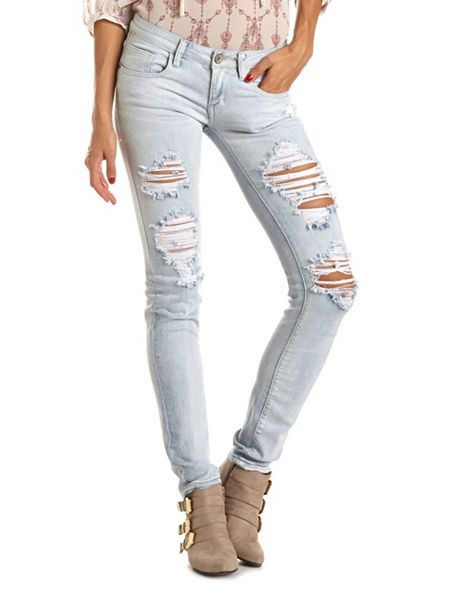 Ripped Denim Jeans | Jeans To