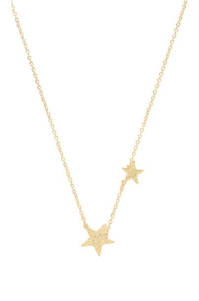 gorjana Super Star Necklace in gold / metallic