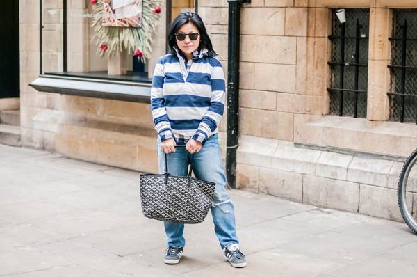 preppypanache blogger jeans shoes bag