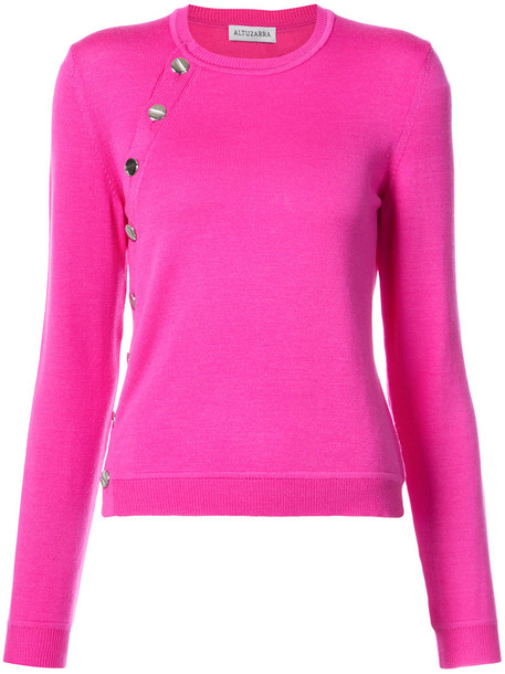 Altuzarra sweater women purple pink
