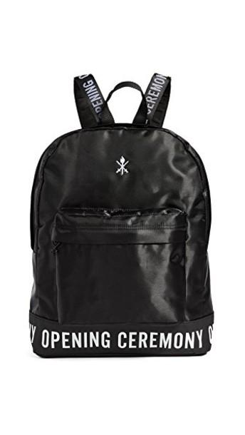 opening ceremony backpack black bag