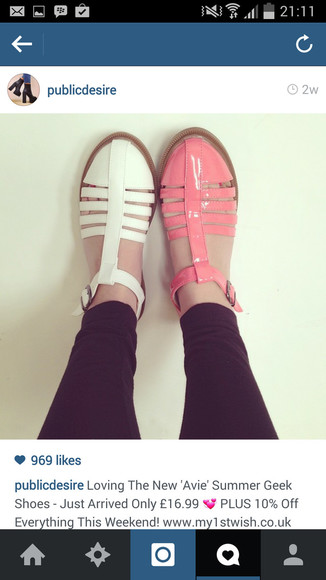 shoes hot pink pink shoes white shoes every day look ootd hot pink shoes