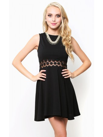 Call Of Spring Skater Dress - Dresses