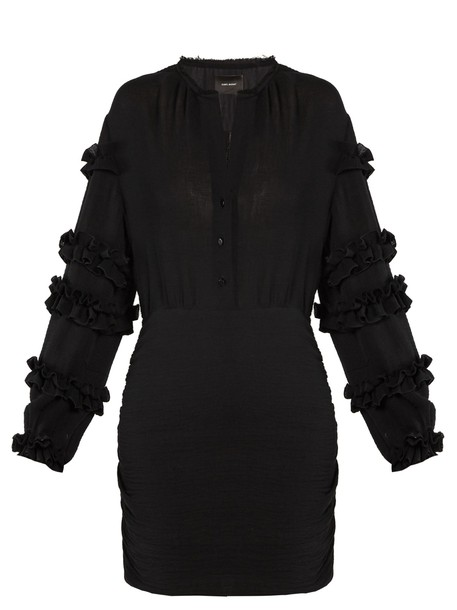 Isabel Marant dress ruffle black