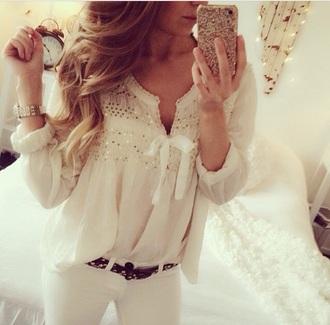 blouse phone nice lovely pants shirt too top topp