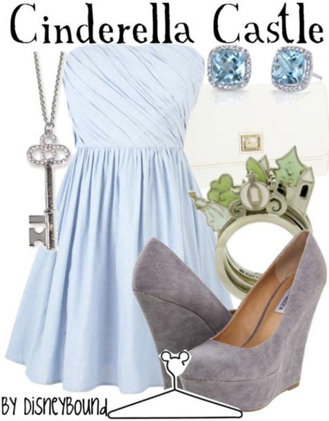 dress prom dress cute dress blue dress light blue disney disney disney princess disney jewelry jewels