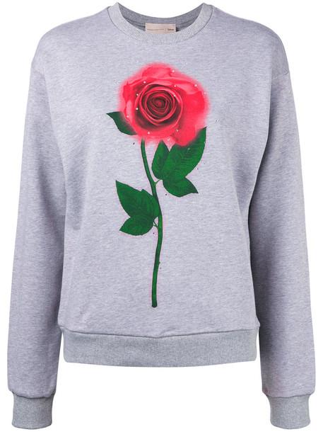 CHRISTOPHER KANE sweatshirt women cotton grey sweater