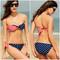 Stars & stripes bandeau bikini – dream closet couture
