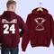 Beacon hills hoodie lacrosse hoodie stilinski 24 hoodie