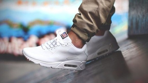 shoes mens shoes white flag