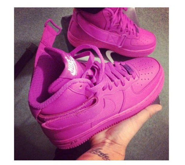 NIKE AIR FORCE fucsia