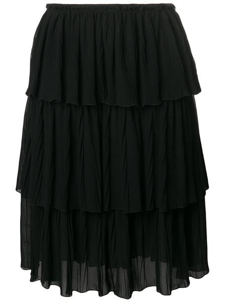 See by Chloe skirt ruffle women black