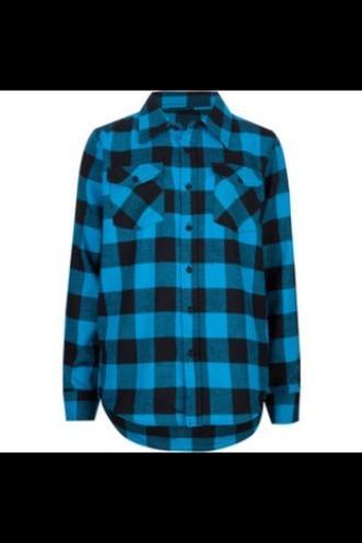 shirt blue shirt flannel shirt