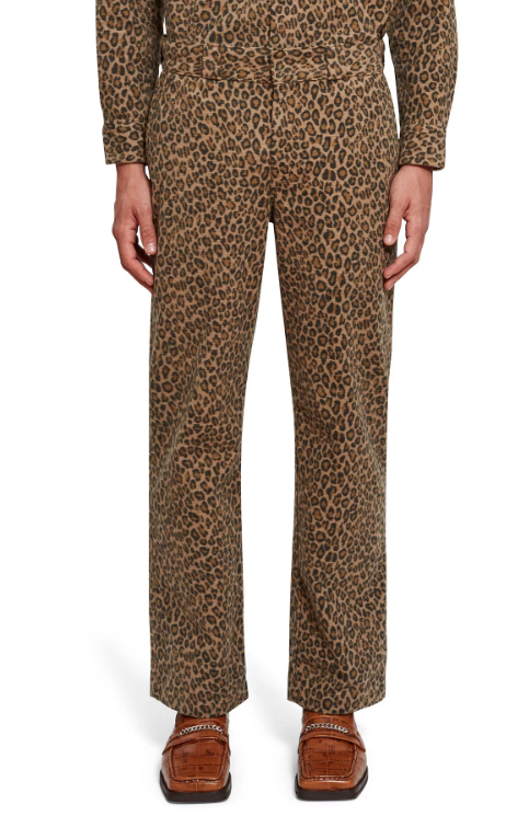 Dickies 1922 x Opening Ceremony ALL OVER LEOPARD PRINT PANT