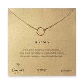 jewels,dogeared,karma necklace