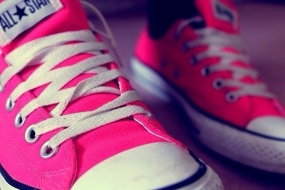 shoes pink shoes converse