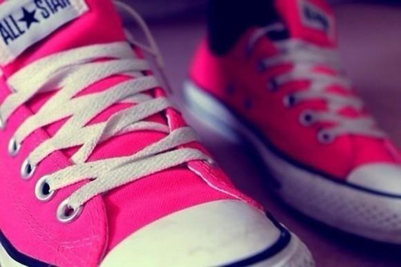 shoes converse pink shoes