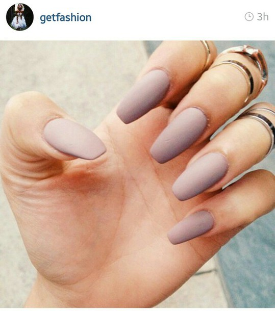 nail polish nude purple nails purple matte nails matte nail polish lavender nail accessories coffin nails