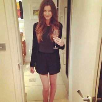 shorts black shorts eleanor calder
