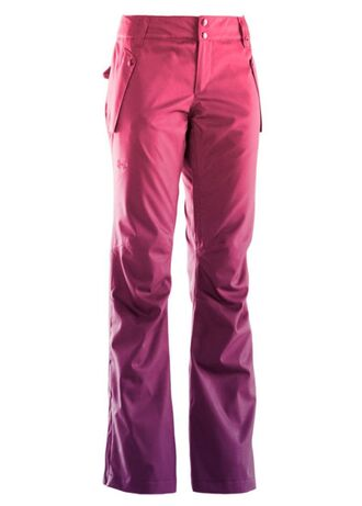 pants winter sports ski pants skiing pink ombre