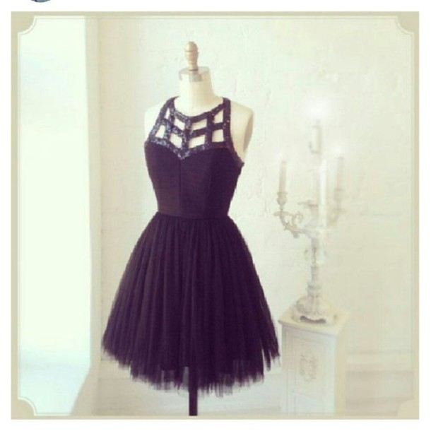 dress homecoming dress party dress black dress beautiful cute cute dress girly perfect