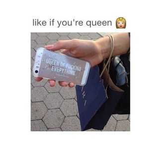 phone cover queen everything beautiful