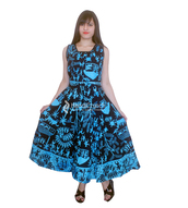 dress,boho dress,floral maxi dress,blue floral maxi dress plunge neck long sleeve double leg slit tie up,trendy gowns,womens summer gowns,cotton long gown,womenwear,clothes,mandala clothes,long gown,womens gowns,boho summer outfits,unique dress,dressy,women style