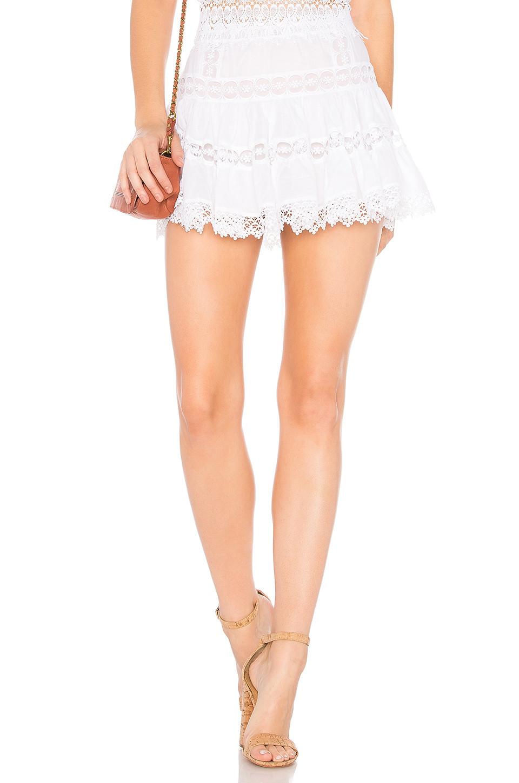 Charo Ruiz Ibiza Greta Skirt in white