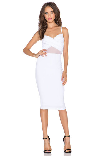 dress bustier dress white