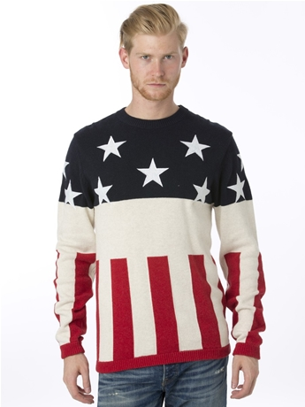 Stars and Stripes Sweatshirt by Under Two Flags