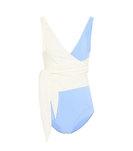 Lisa Marie Fernandez blue swimwear