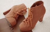 shoes,boots,heels,chunky heels,kawaii,cute brown shoes,lovely,brown,brown high heels,cute,cute shoes,teenagers,trendy,tan,coffee,high heels,cute high heels,kawaii accessory,indie,indie boho