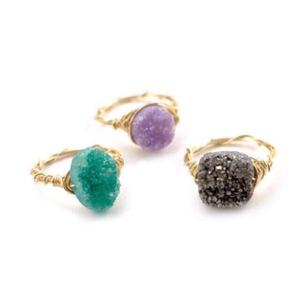 jewels lovely shopping for women druzy rings and tings style fashion girly instagram instagood